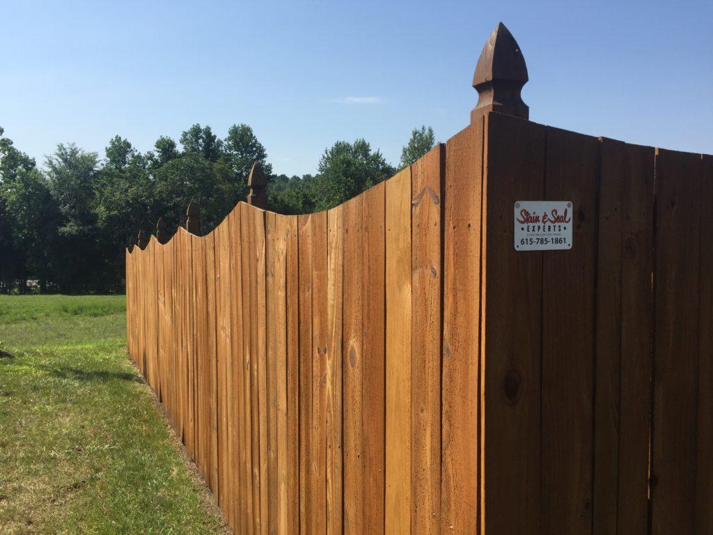 Lebanon Fence Staining