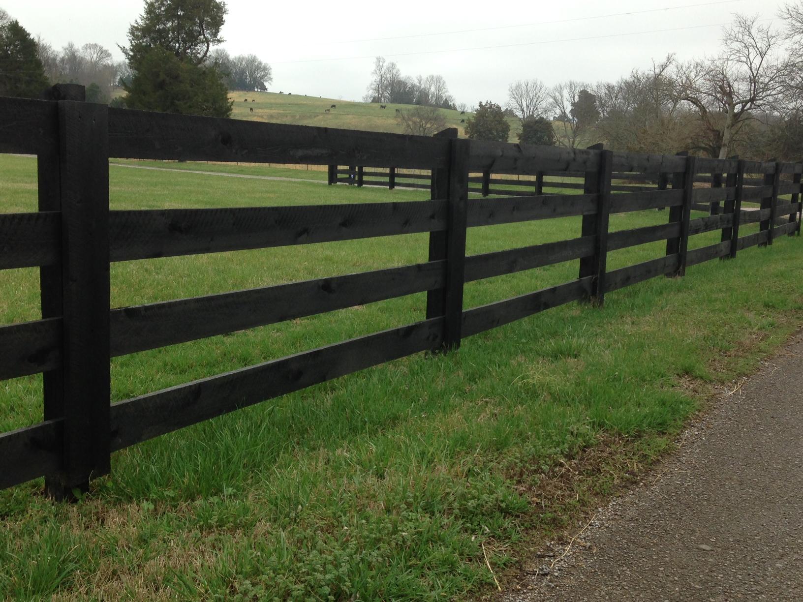 Black Ranch Paint