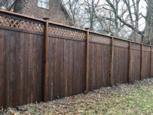 Walnut Fence Stain